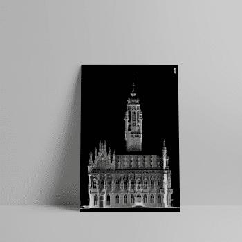 3D Laserscan van het Stadhuis in Middelburg