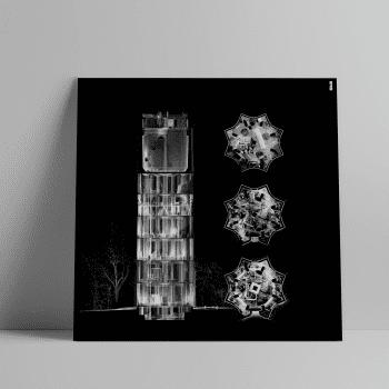 3D Laserscan van de watertoren in Oude Pekela